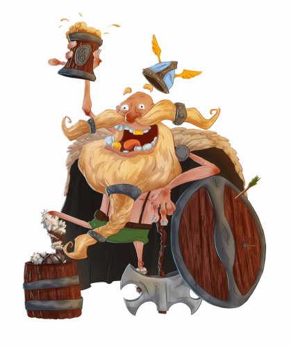HappyViking_Rendered