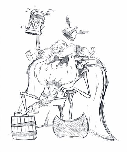 HappyViking_Sketch